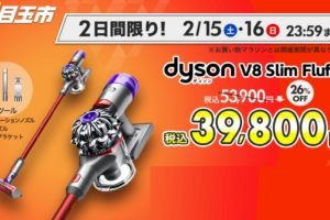 ダイソンV8