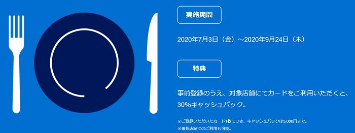 キャンペーン期間:2020年7月3日~9月24日(木)まで